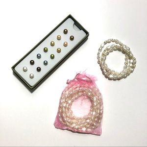 Honora Collection Genuine Pearl Set